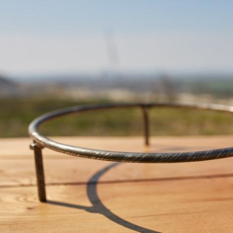 Підставка для сковороди універсальна на стіл (для сковорідок 400мм та 500мм), 400х150мм