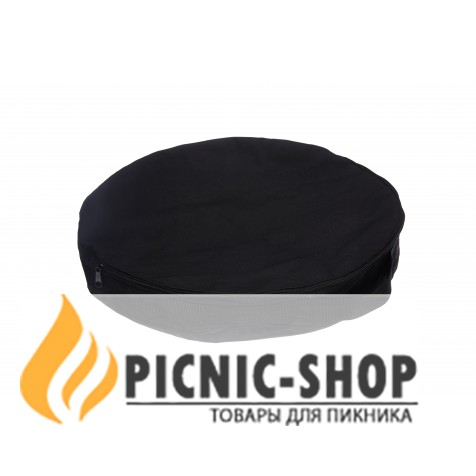 """Набор """"Сковородка с крышкой и чехлом"""" Дымок """", 500 мм"""