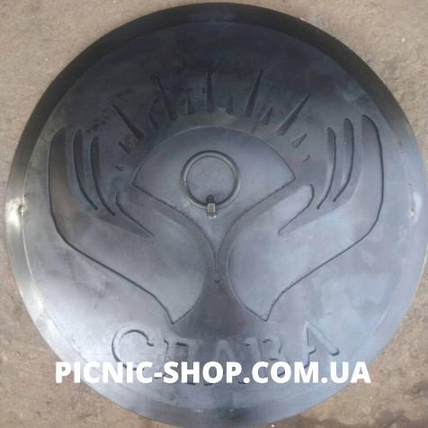 Индивидуальная гравировка к крышке сковороды, 500мм